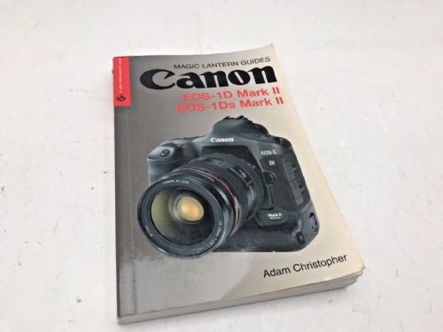 Canon EOS 1D and DS Mark 2 instruction book and tips on photography